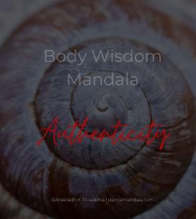 DMV/L1 module 4: DANCEmandala Body Wisdom Spiral